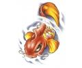 Vissen & Koi Karpers tattoo voorbeeld Koi 1