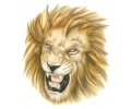 Roofdieren tattoo voorbeeld Leeuw
