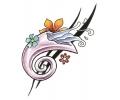 Bloemen tattoo voorbeeld Lelie