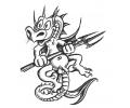 Draken tattoo voorbeeld Lief Draakje 1
