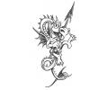 Draken tattoo voorbeeld Lief Draakje 2