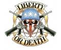 USA & Redneck Tattoos tattoo voorbeeld Liberty or Death