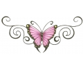 Onderrug Tattoos tattoo voorbeeld Onderrug Tattoo Butterfly