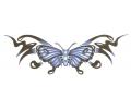 Onderrug Tattoos tattoo voorbeeld Onderrug Vlinder
