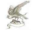 Nieuw!!! Plaktattoos tattoo voorbeeld Op Jacht Met Banner