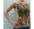 Tattoo T-shirt zonder mouw tattoo voorbeeld Tattoo t-shirt zonder mouw 5