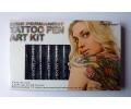 Doosje: Tattoo Pen art kit tattoo voorbeeld Tattoo Pen Art Kit