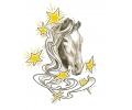 Paarden tattoo voorbeeld Paard met Sterren