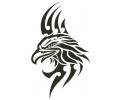 Tribals tattoo voorbeeld Power Eagle
