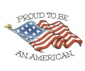USA & Redneck Tattoos tattoo voorbeeld Proud to be American