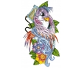 Overige Vogels tattoo voorbeeld Punker Mus