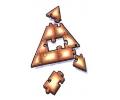 Overige Symbolen tattoo voorbeeld Pyramide Puzzel