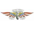 Motor / Biker tattoo voorbeeld Ride Free