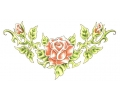 Onderrug Tattoos tattoo voorbeeld Rose Garden Lower Back Tattoo