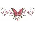 Onderrug Tattoos tattoo voorbeeld Rug Tattoo Vlinder