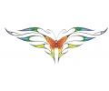 Onderrug Tattoos tattoo voorbeeld Rugtattoo Vlinder 2