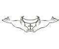 Onderrug Tattoos tattoo voorbeeld Rugtattoo Zeenhondjes met Banner