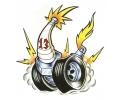 Auto Fanaat tattoo voorbeeld Spark 13