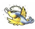 Zwaluwen tattoo voorbeeld Spreeuw met Petje