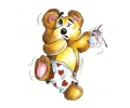 Teddyberen tattoo voorbeeld Teddybeer