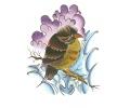 Overige Vogels tattoo voorbeeld Tevreden Vogeltje