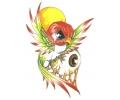 Nieuw!!! Plaktattoos tattoo voorbeeld This Bird Sees You