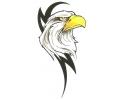 Tribals tattoo voorbeeld Tribal Eagle