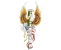 USA & Redneck Tattoos tattoo voorbeeld US Marine Corps