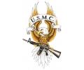 USA & Redneck Tattoos tattoo voorbeeld US Marine Corps Eagle