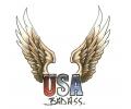USA & Redneck Tattoos tattoo voorbeeld USA Badass