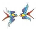 Zwaluwen tattoo voorbeeld Verliefde Spreeuwen