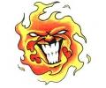 Vlammen & Vuur tattoo voorbeeld Vlam 1