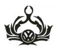 Auto Fanaat tattoo voorbeeld Volkswagen Tribal Pride