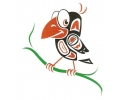 Nieuw!!! Plaktattoos tattoo voorbeeld Vrolijk Vogeltje
