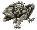 Overige Mythologie tattoo voorbeeld Weerwolf