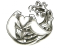 Overige Zeedieren tattoo voorbeeld Zeehonden in Love