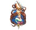 Zeemeermin tattoo voorbeeld Zeemeermin met Octopus
