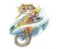 Overige Zeedieren tattoo voorbeeld Zeepaard 1