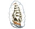 Zeeman / Scheepvaart tattoo voorbeeld Zeilschip