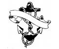 Overige tattoo voorbeeld Anker tekst