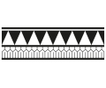Nieuw!!! Plaktattoos tattoo voorbeeld Maori Armband 2