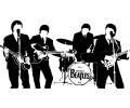 Muziek tattoo voorbeeld The Beatles