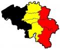 Belgisch Elftal tattoo voorbeeld Belgie Kaart