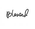 Spreuken / Poëzie tattoo voorbeeld Blessed