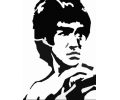 Hollywood tattoo voorbeeld Bruce Lee 1