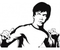 Hollywood tattoo voorbeeld Bruce Lee 2