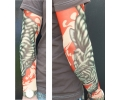 Tattoo sleeves armen tattoo voorbeeld Sleeve 12 Tijger Groen