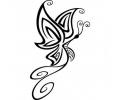 Vlinders tattoo voorbeeld Butterfly