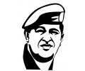 Politiek tattoo voorbeeld Hugo Chavez