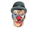 Evil Clowns tattoo voorbeeld Clown met Hoed
